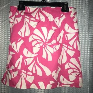 Lily Pulitzer Floral Skirt